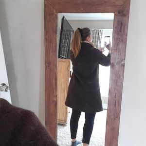 Jackets & Coats - Vintage brown coat by with mink collar